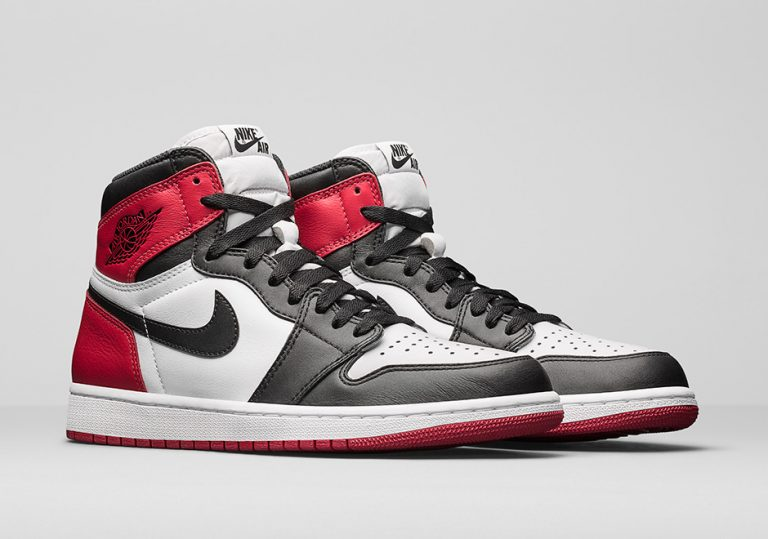 Air Jordan 1 Retro High OG Black Toe 2016 Release Date - Air 23 ... 535921b2c3