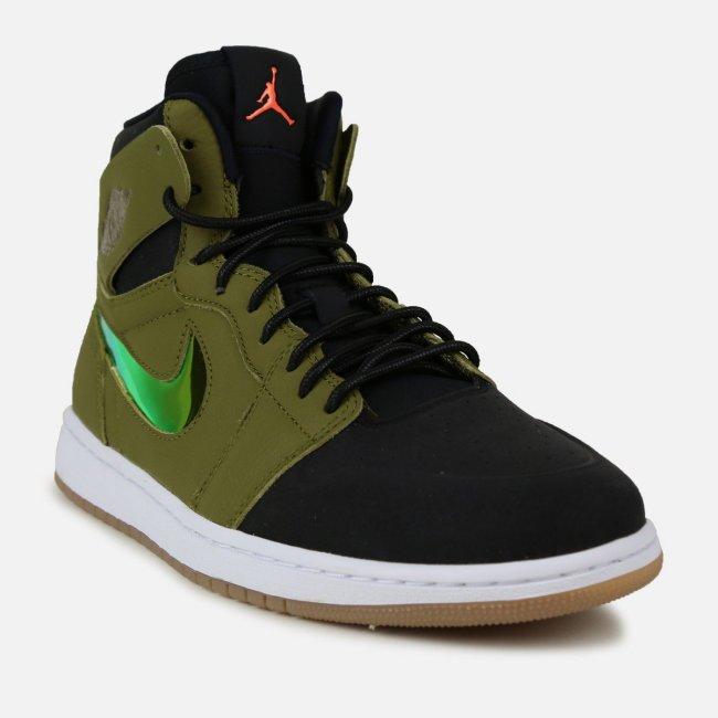 air jordan 1 high nouveau militia green