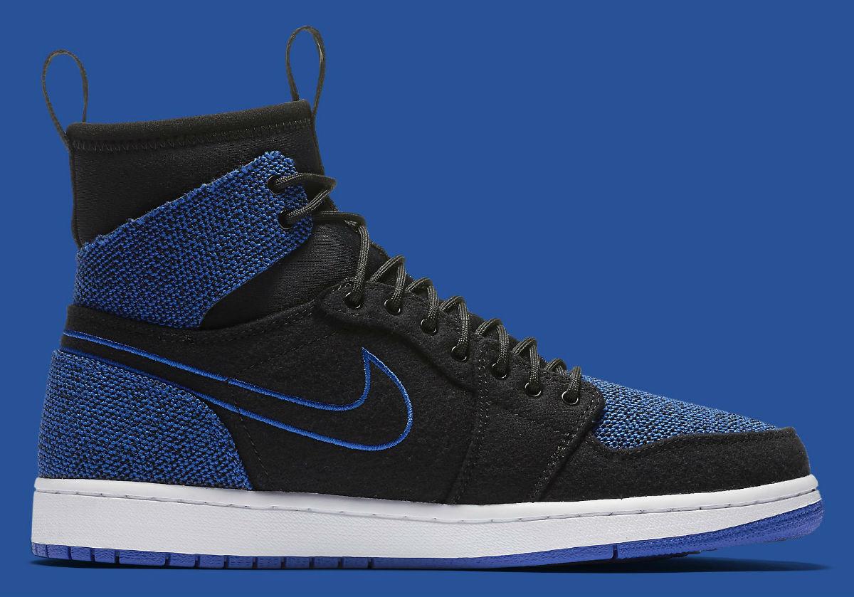 purchase cheap 2ca0a 86831 Air Jordan 1 Retro Ultra High Black Blue 844700-007 Men s Shoes Multi Size