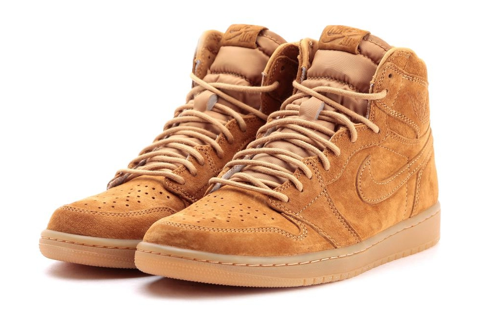 f5e77d2959c Air Jordan 1 Retro High OG Color: Golden Harvest/Elemental Gold Style Code:  555088-710. Release Date: 11/25/2017. Price: $160.00