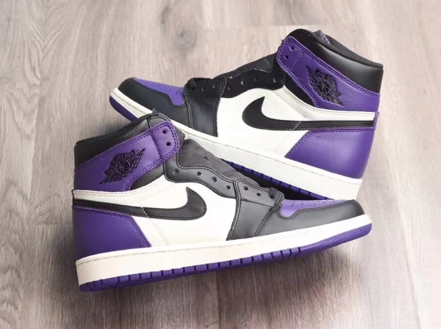 the latest 1fa5b 4981a air jordan 1 retro high og court purple
