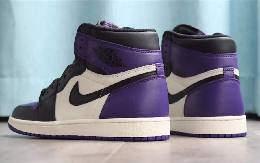 63456b6ac34e Air Jordan 1 (1) Retro High OG Color  Court Purple Sail-Black Style   555088-501. Release Date  09 22 2018. Price   160.00