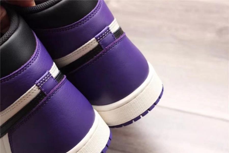 best website e00ed 7030c Air Jordan 1 (1) Retro High OG Color  Court Purple Sail-Black Style  555088- 501. Release Date  09 22 2018. Price   160.00