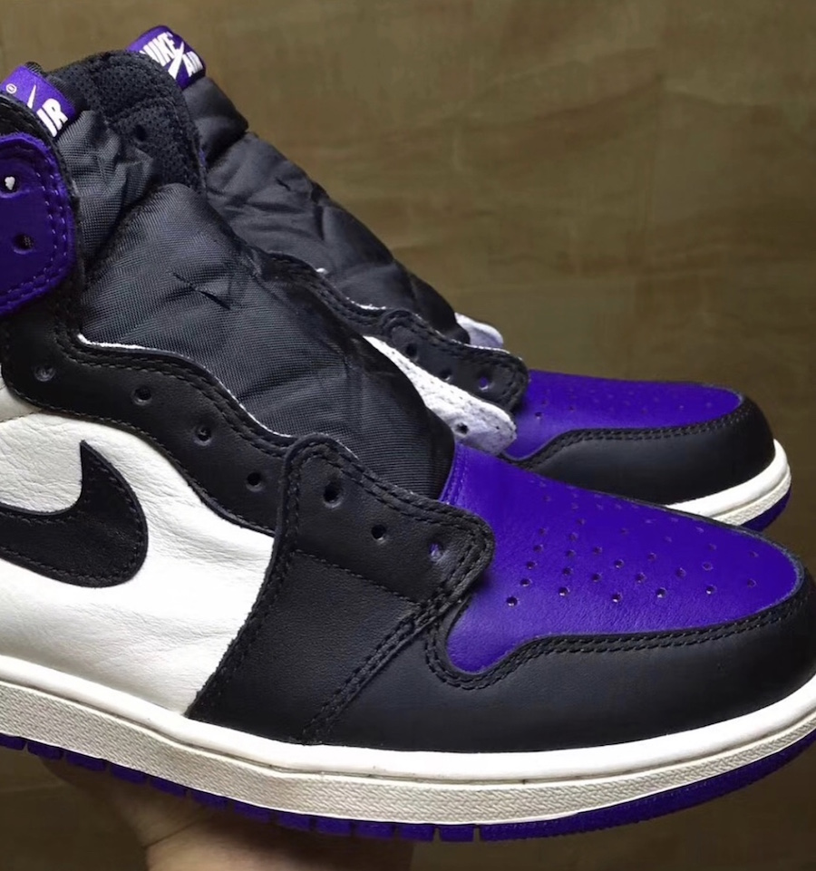 9bb44d43b32 Air Jordan 1 (1) Retro High OG Color: Court Purple/Sail-Black Style:  555088-501. Release Date: 09/22/2018. Price: $160.00