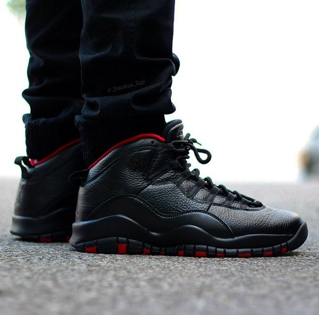 "official photos 960cc 348fb Air Jordan 10 ""Dirty Bred"" Customs by Kickasso"