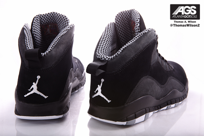 best loved 913ac caff9 Air Jordan 10 (X) Retro Color  Black White-Stealth Style  310805-803.  Release  03 24 2012. Price   160.00