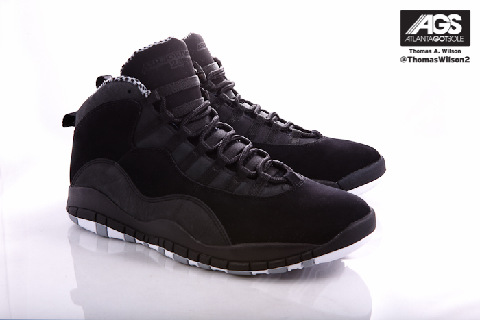 best loved a198c 5afab Air Jordan 10 (X) Retro Color  Black White-Stealth Style  310805-803.  Release  03 24 2012. Price   160.00