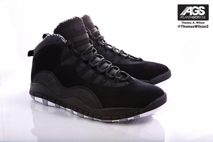 Air Jordan 10 (X) Retro Color  Black White-Stealth Style  310805-803.  Release  03 24 2012. Price   160.00 a5b3c64f6