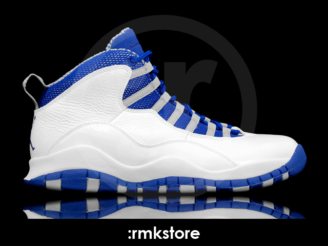 on sale e2133 0b0be Air Jordan 10 (X) Retro Color  White Old Royal-Stealth Style  487214-107.  Release  02 11 2012. Price   160.00