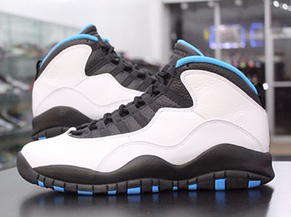 new style 24bd0 90162 Air Jordan 10 (X) Retro Color  White Dark Powder Blue-Black Style  310805-106.  Release  02 22 2014. Price   170.00