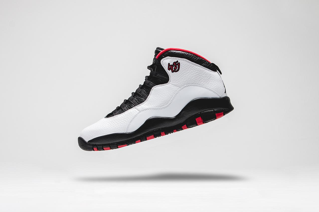 "online retailer b9cbb 0a4eb Air Jordan X Retro OG ""Double Nickel"" Another Look"