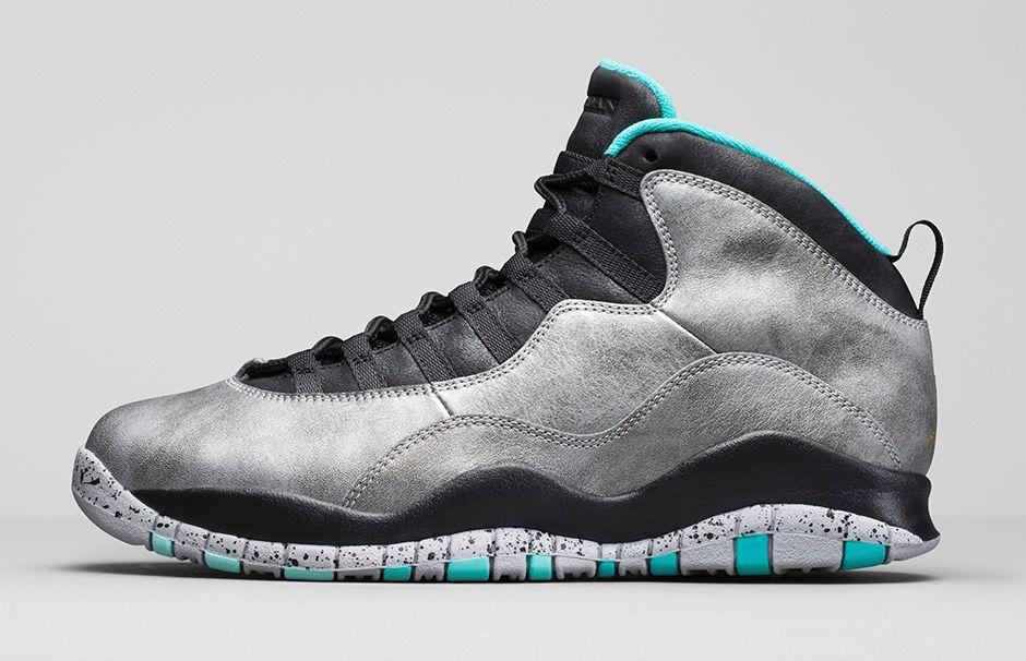 Nike air jordan 10s Lady Liberty 100% Authentic size 9.5 basketball shoe
