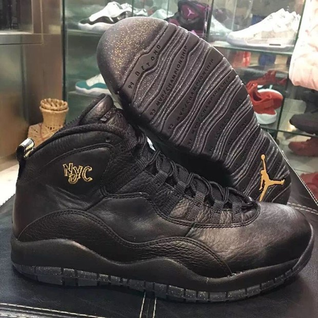 finest selection c8212 87768 air jordan 10 nyc release date. Air Jordan 10 (X) Retro Color  Black Black-Dark  Grey-Metallic Gold
