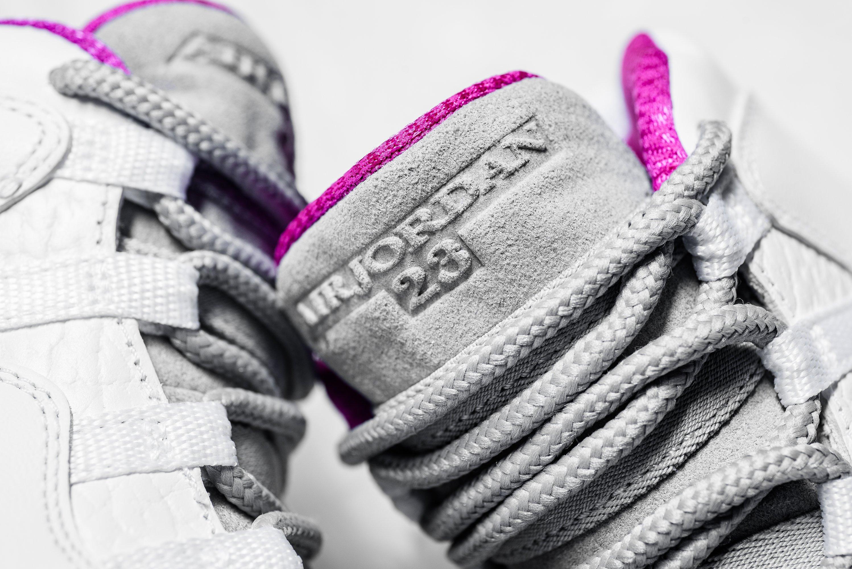 5ec06471a91d Nike Air Jordan X 10 Maya Moore Fuchsia Flash Pink And White Size Y GS 8.5  9 9.5
