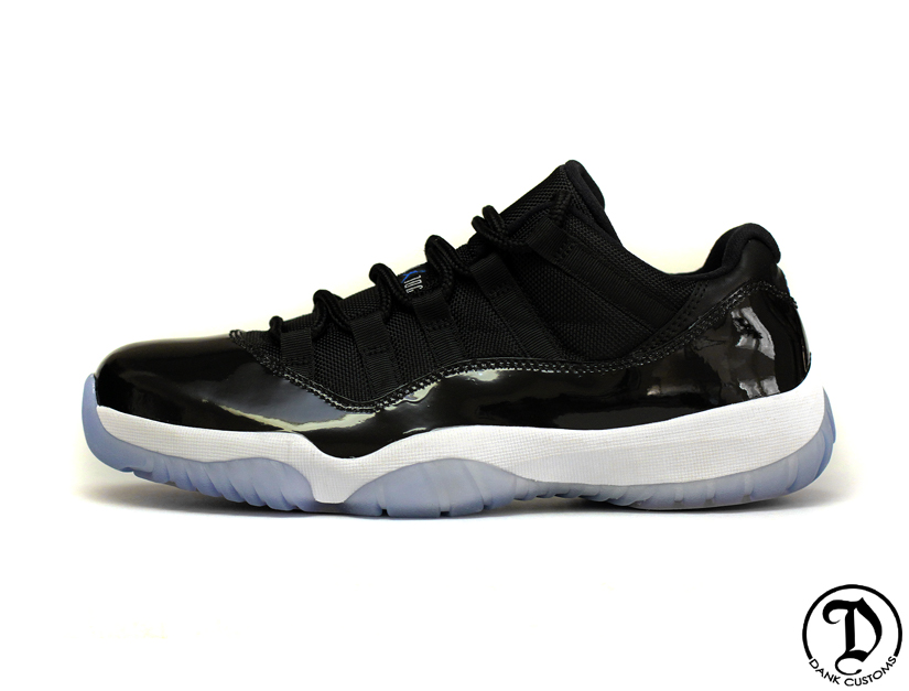 "Air Jordan XI (11) Low ""Space Jam"" Customs by Dank Customs