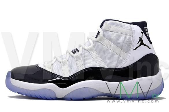 cheap for discount b2fe3 71881 Air Jordan 11 (XI) Retro Color  White Black-Dark Concord Style  378037-107.  Release  Holiday 2011