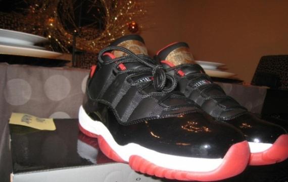 5f10d7cf1e0827 Nike Air Jordan 11 Retro XI Low Reverse Concord Tuxedo