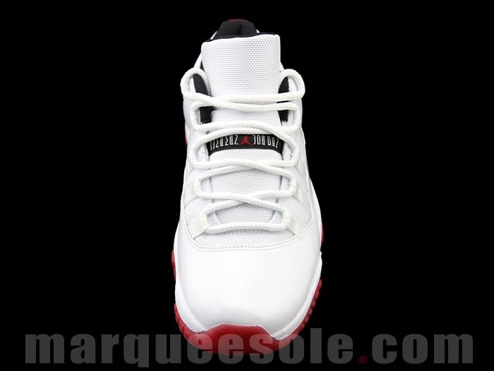 sports shoes 62f4e 863e4 Air Jordan XI Retro Low White Varsity Red - More Images