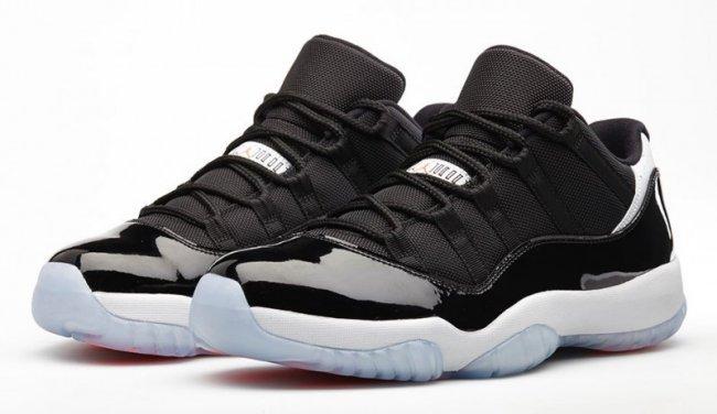 Air Jordan 11 (XI) Retro Low Color  Black Infrared 23-Pure Platinum Style   528895-023. Release  06 14 2014. Price  Men s  150.00. Gradeschool  115.00 b492f0d73
