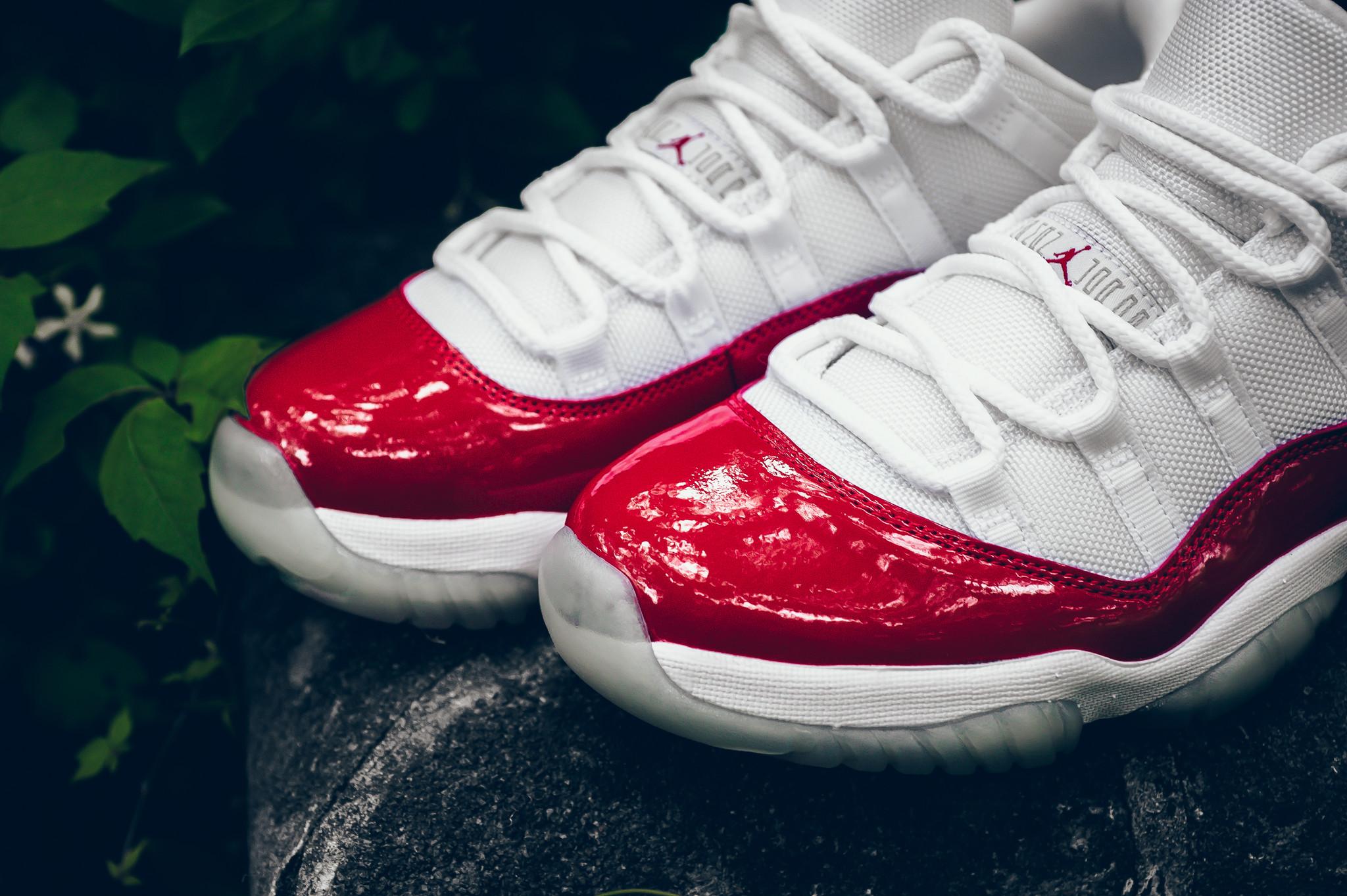 Air Jordan XI Retro Low Varsity Red - New Images - Air 23 - Air Jordan  Release Dates 58d0f98b9