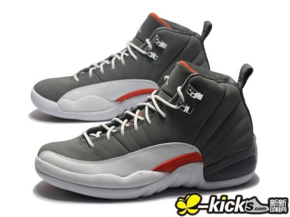 hot sales 1f04a e413f The Cool Grey Team Orange-White Air Jordan 12 will release on May 19. If  you forget, the date has been listed in the Release Dates section. From  XKicks.