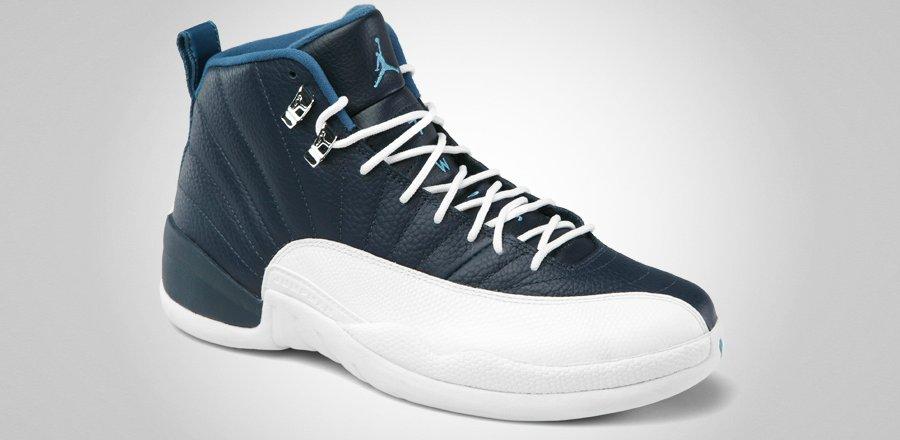 Air Jordan XII 12 Retro Obsidian/University Blue 2012 Brand New sz 12 130690 410