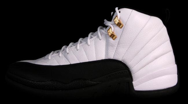 huge discount 3a55c 4f719 Air Jordan 12 (XII) Retro Color  White Black-Taxi Style  130690-125. Release   12 14 2013. Price   160.00 (Mens)  115.00 – (Gradeschool)  75.00 – ( Preschool)