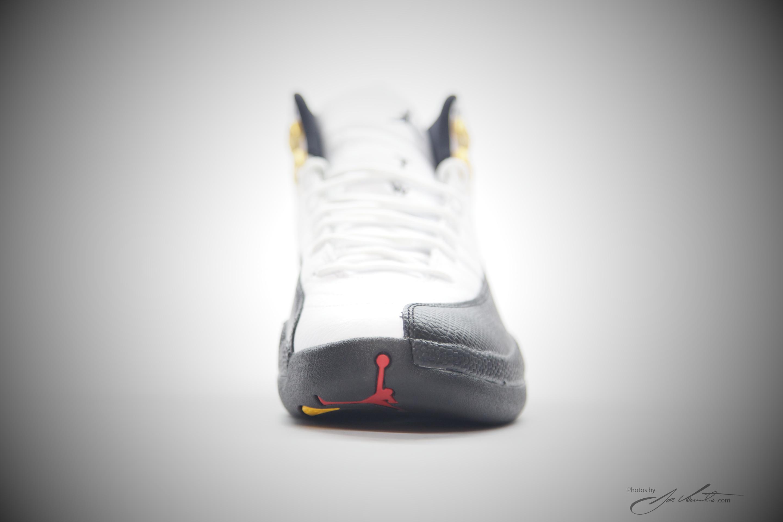 quality design 9fd16 b3462 Nike Air Jordan XII Retro 12 White Black -Taxi-varsity Red 130690 125  Authentic