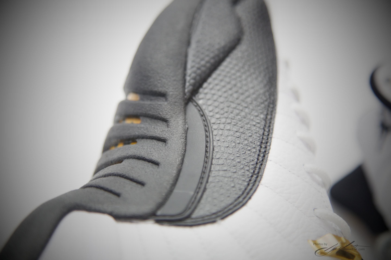 quality design 7899b 5d132 Nike Air Jordan XII Retro 12 White Black -Taxi-varsity Red 130690 125  Authentic