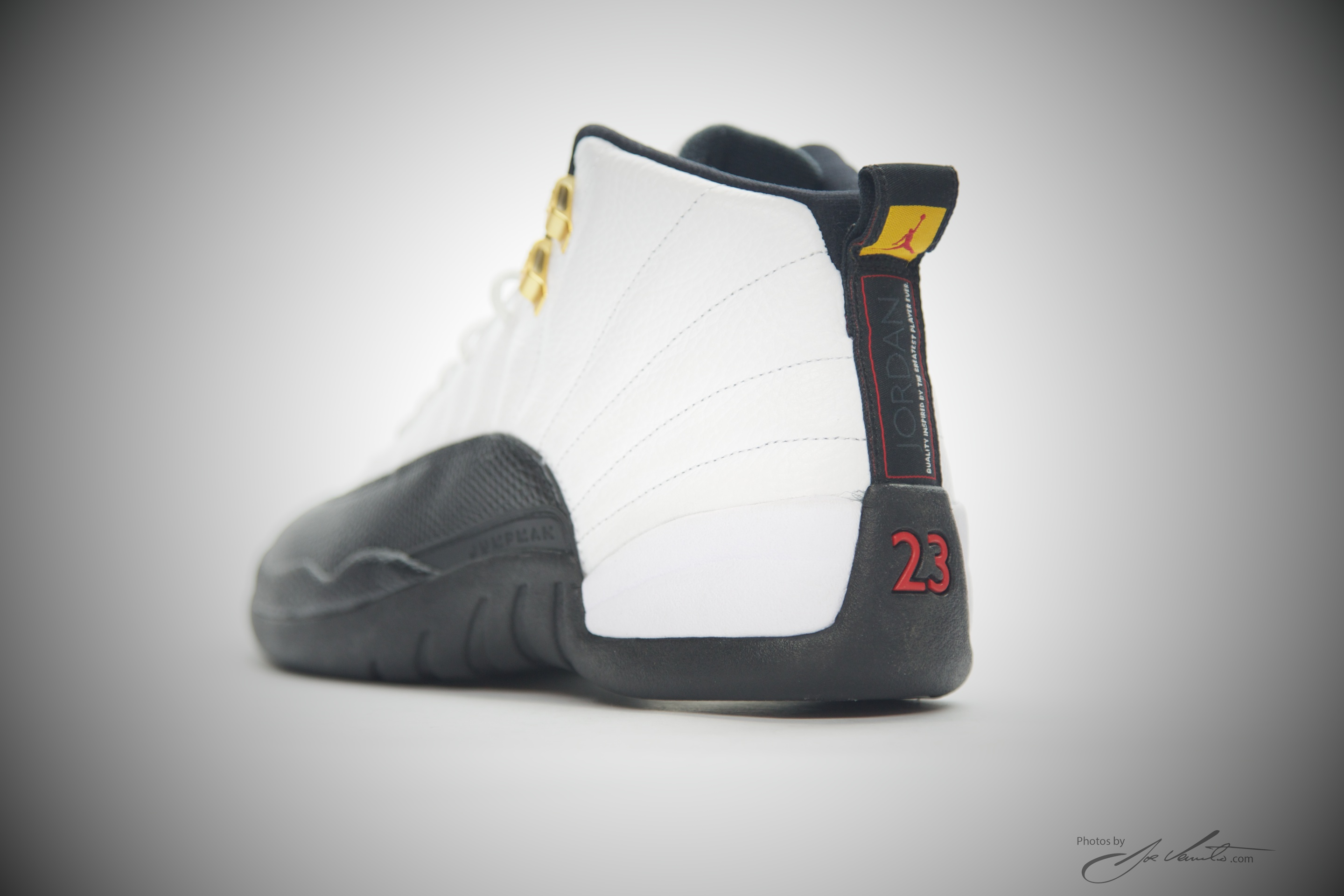 4e19aac34593 ... canada nike air jordan xii retro 12 white black taxi varsity red 130690  125 authentic c6901