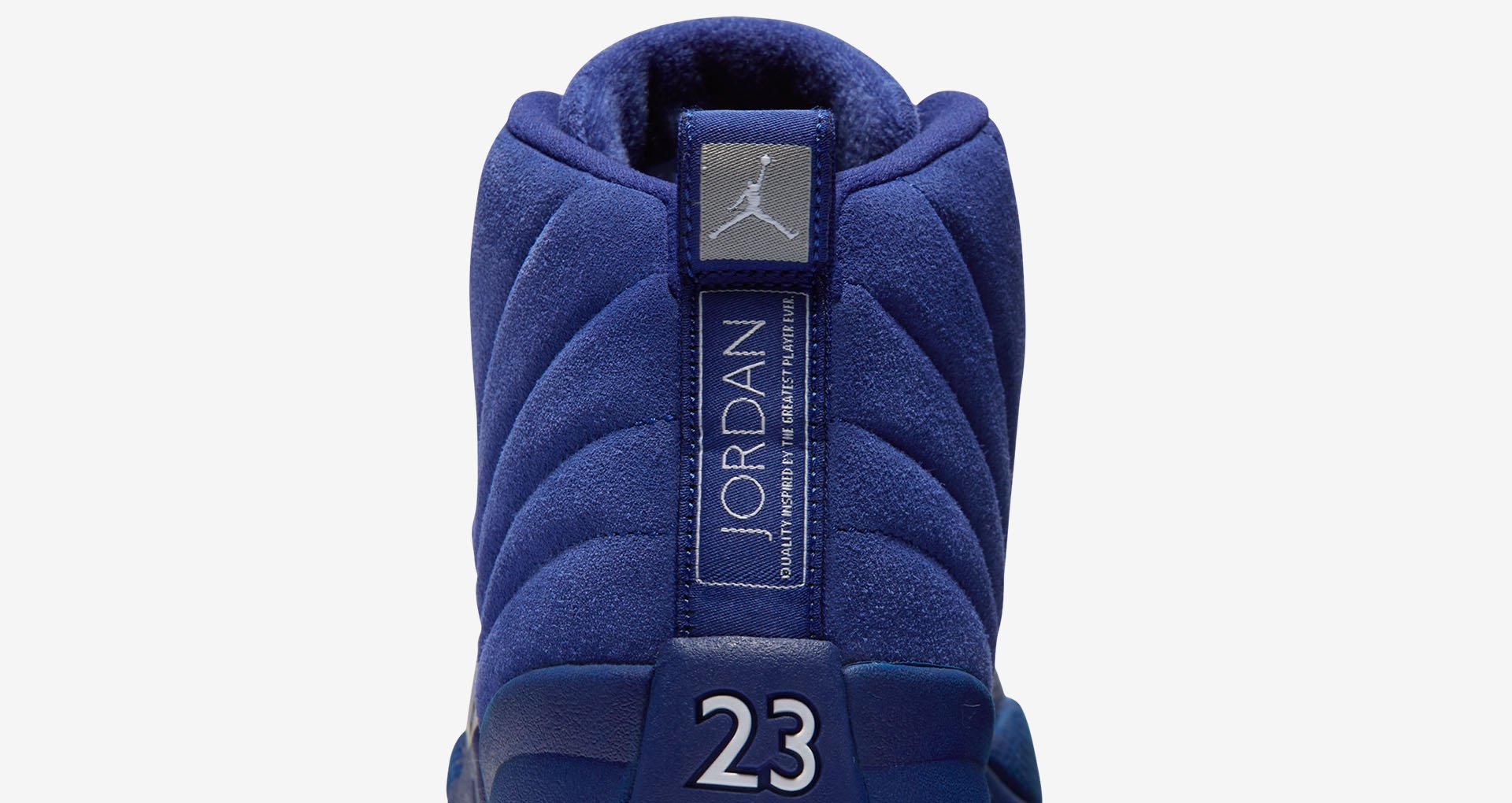 online store 70588 e7eb1 Nike Air Jordan Retro 12 XII Size 5 Y (GS) Deep Royal Blue Suede 163265-400   New