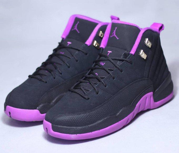 f81d9951a86649 Air Jordan 12 GS Hyper Violet - Air 23 - Air Jordan Release Dates ...