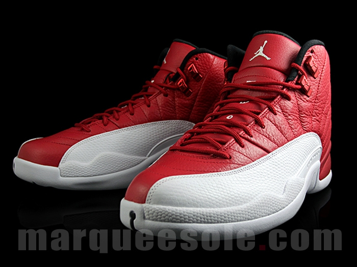 807c2268c51472 Air Jordan 12 Retro Gym Red - More Images - Air 23 - Air Jordan ...
