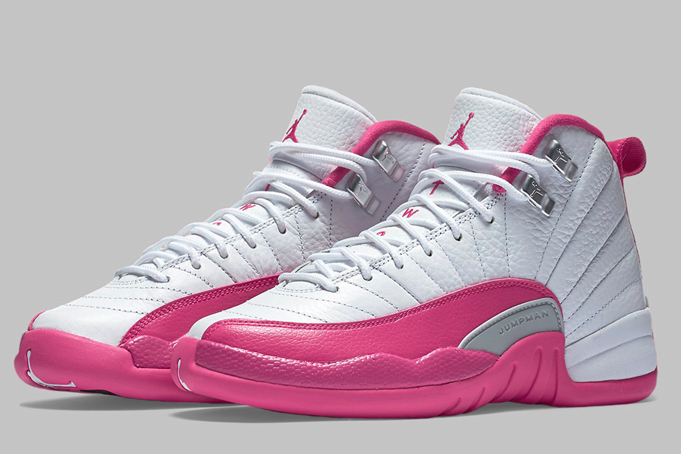 first rate 31a13 0f0bc Nike Air Jordan Retro 12 GS Vivid Dynamic Pink 510815-109 Youth 4.5y NEW NO  LID