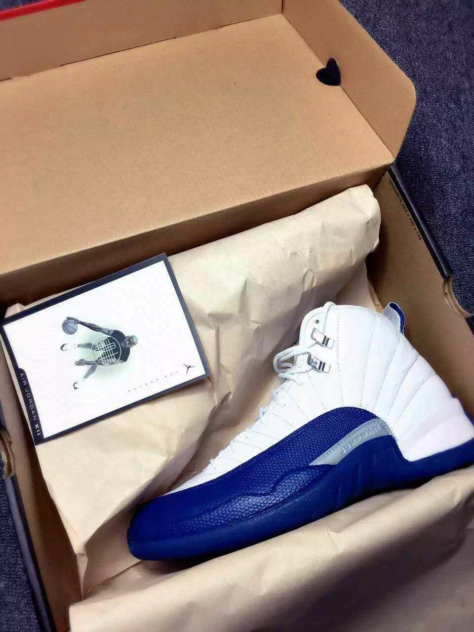 9a940a64f2b77d air jordan 12 retro french blue 2016. 2003 Air Jordan 12 Retro French Blue  Size ...