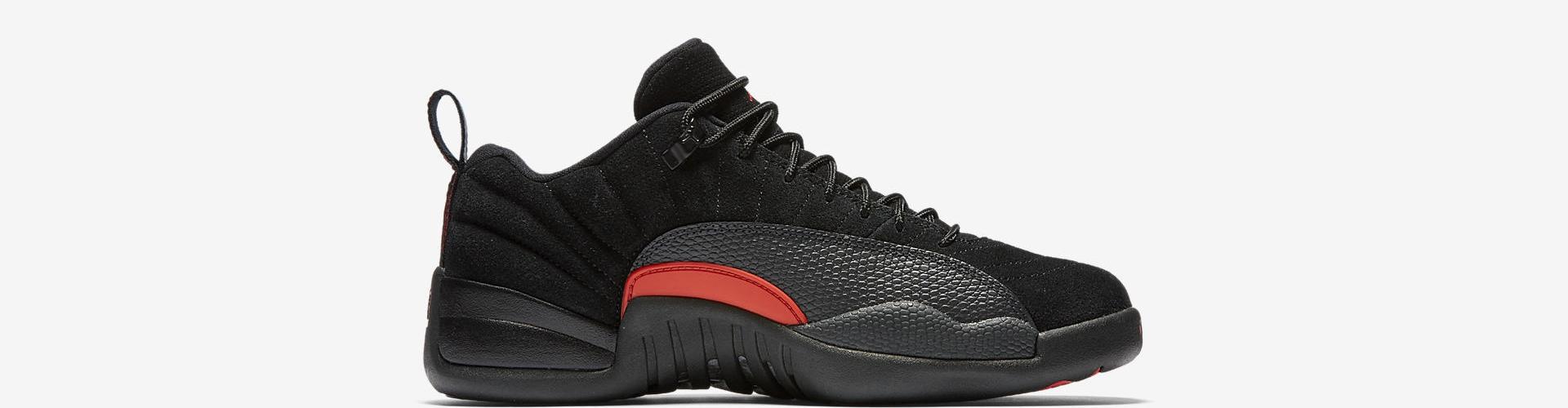 0e9e8f83d79 2017 Nike Air Jordan 12 XII Low Black Max Orange 308317-003 Msrp  170 sz  8-15