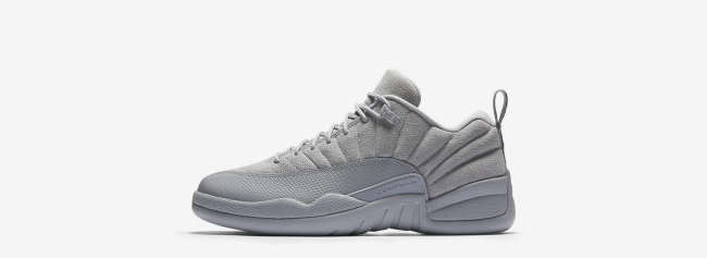 air jordan 12 low wolf grey