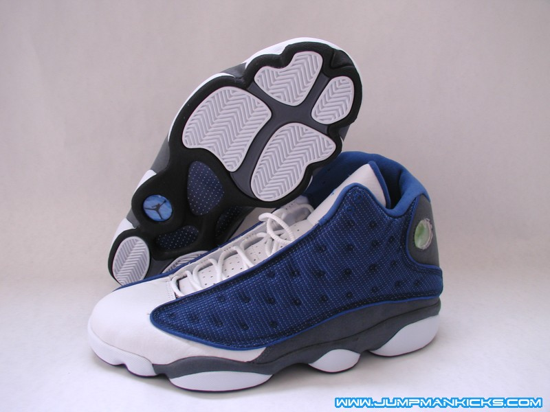 newest bb812 67af8 Air Jordan XIII Retro Blue Flint Grey-White to Return