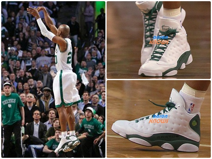 287ff67b802 Air Jordan XIII Ray Allen 3-Point Record PE Release - Air 23 - Air ...