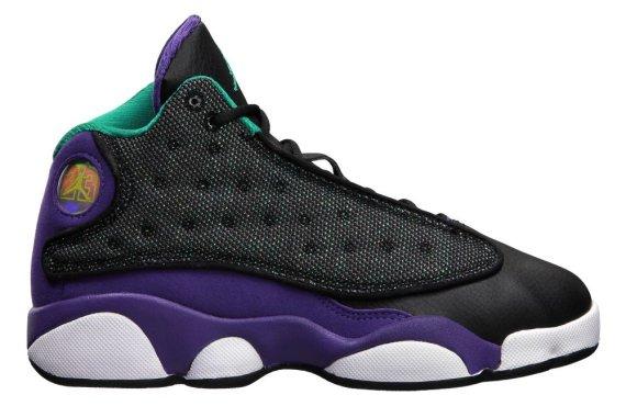 Purple And Teal Air Jordans Air Jordan 13 Purple Black
