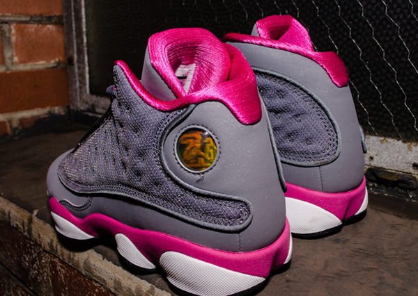 new concept f7bab b3861 Air Jordan 13 (XIII) Retro GS Color  Cool Grey Fusion Pink-White Style   439358-029. Release  03 16 2013
