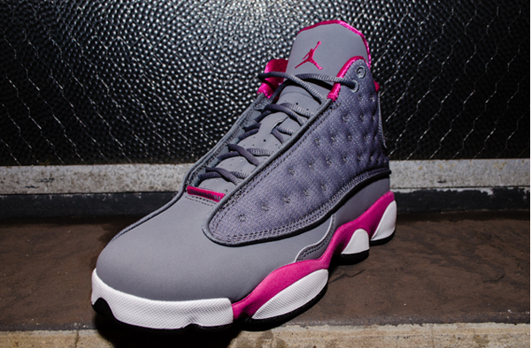 Air Jordan 13 (XIII) Retro GS Color: Cool Grey/Fusion Pink-White Style:  439358-029. Release: 03/16/2013