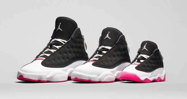 low priced 034d6 a5c00 Air Jordan 13 (XIII) Retro GS Color  Black Hyper Pink-White Style  439358- 008. Release  11 22 2014. Price   130.00