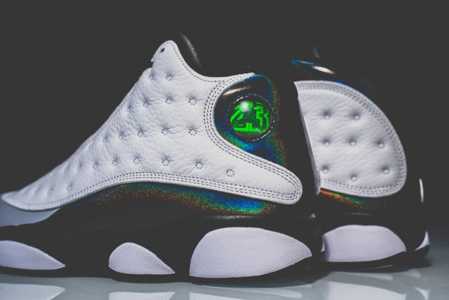 promo code 4cc2f a3a4f Air Jordan 13 (XIII) Retro Color  White Tropical Teal-Black-Wolf Grey  Style  414571-115. Release  10 25 2014. Price   185.00