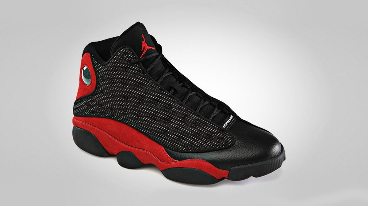 online retailer 85d7d a313c air jordan 13 bred 2017. Air Jordan 13 (XIII) Retro Color  Black True Red-White  Style  414571-004