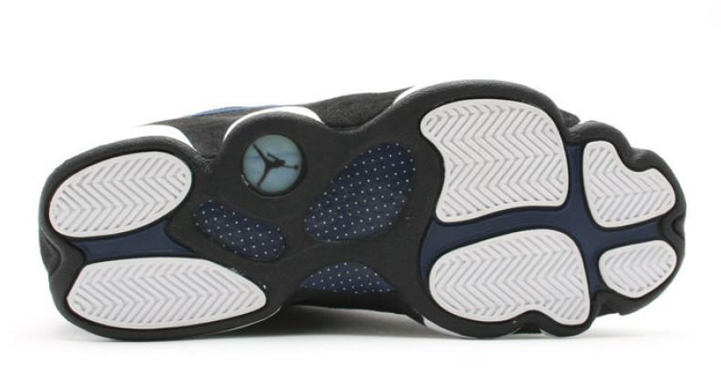 new concept 4cc00 439fe NIke Air Jordan 13 XIII Retro Low (310810-407) Brave Blue Silver Mens Sz 10  US