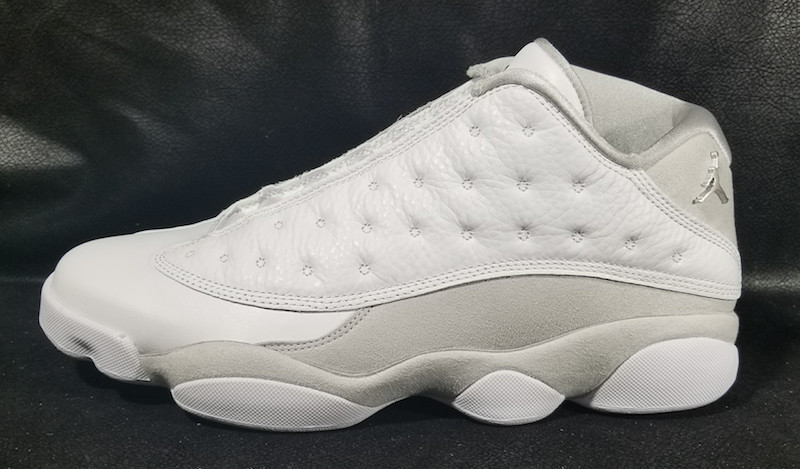 best service 1fa2c 6e8ec air jordan 13 low silver