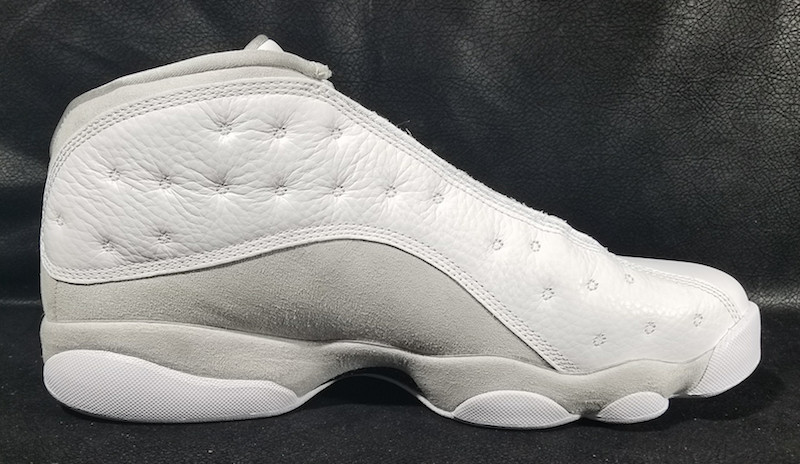 quality design fd08c 95419 Nike Air Jordan Retro XIII 13 Low Brave Blue Metallic Silver Black Size 11