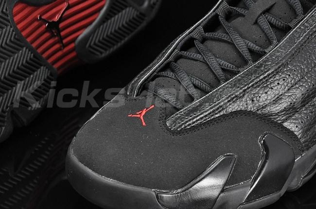 timeless design 427b6 1e822 Nike Air Jordan Retro XIV 14 Last Shot Black Varsity Red Size 11 og all