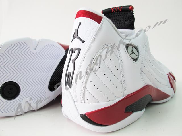 purchase cheap c2358 ac82a Air Jordan XIV Retro 2012 - White Sport Red - New Pics